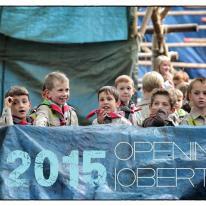 Opening Scoutsjaar Jobertus 2015